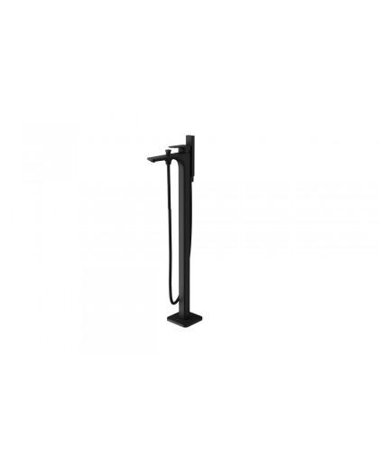 Змішувач для ванни окремо стоячий Keria чорний