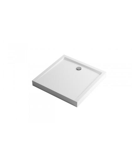 Піддон Excellent квадратний високий Forma Compact (BREX.FOR10WHC)
