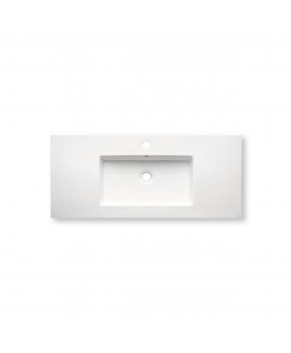Раковина порцелянова Ehre Frankfurt Platinum 100 см (FSP3100SW-P)