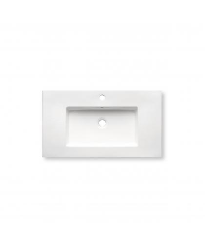 Раковина порцелянова Ehre Frankfurt Platinum 80 см (FSP380SW-P)