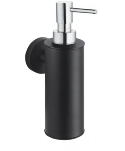 Дозатор Stella для рідкого мила | чорний матовий | серія CLASSIC (07.423-BC)