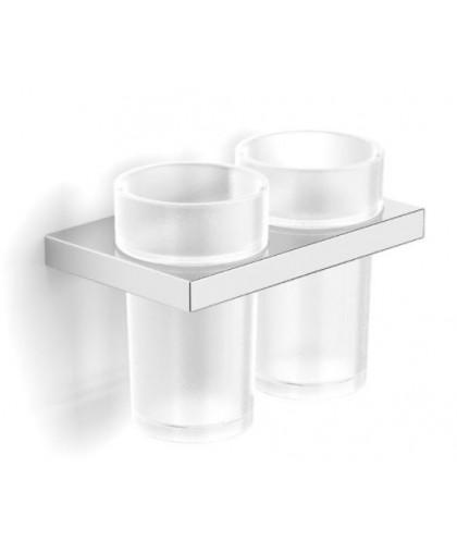 Стакан Stella скляний подвійний з тримачем серія New York (05.412)