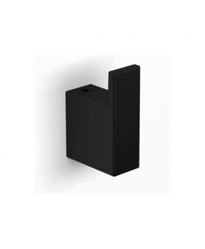 Гачок Stella   одинарний   чорний матовий   серії NEW YORK (05.310-B)