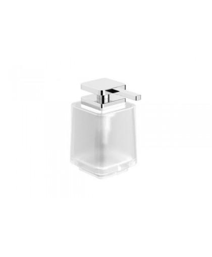 Дозатор Stella скляний для рідкого мила | без ручки | серія NEXT (08.423)