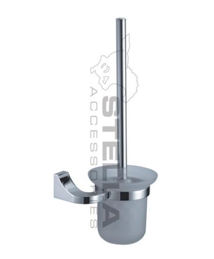Щітка Stella для санвузла | з підвісним тримачем | серія SQUARE (04.430)