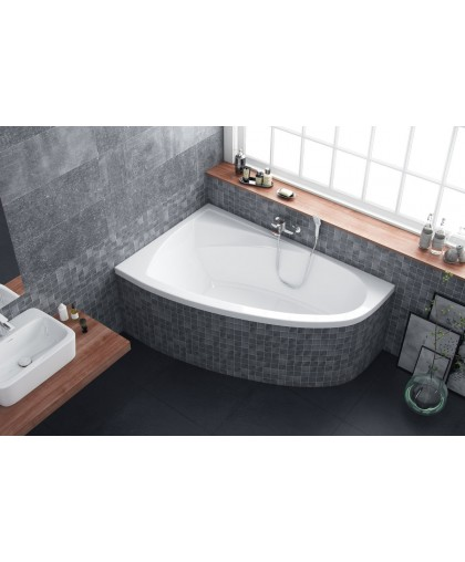 Ванна кутова Excellent Aquaria Comfort ліва 1600 x 1000 (WAEX.AQL16WH)