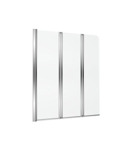 Шторка для ванни трьохсекційна Fliper ліва/права (KAAX.1309.1200 LE/PR)
