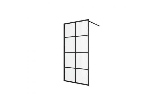 Душова стінка Excellent серія WALK IN 1000 чорна (KAEX.4006.1000.LP)