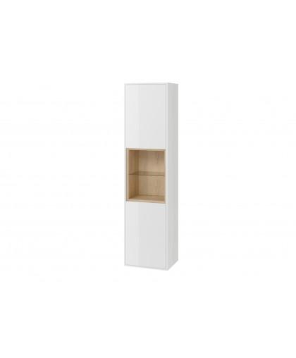 Пенал 40 см білий/дуб Excellent TUTO (MLEX.0201.400.WHBL)