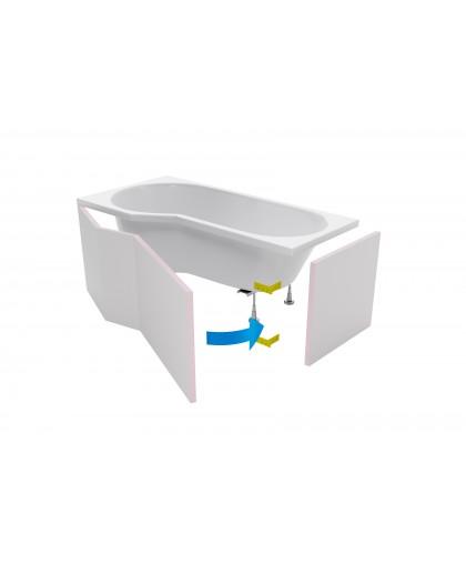 Панель для ванн Excellent Be Spot (OBEX.BSF.16WH)