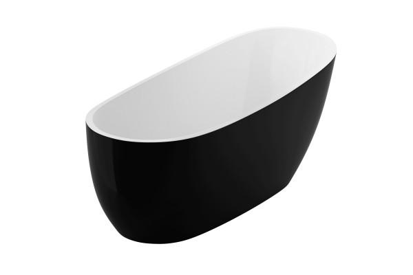 Ванна окремостояча 1750x740 Excellent Comfort+ чорна (WAEX.COM17WB)