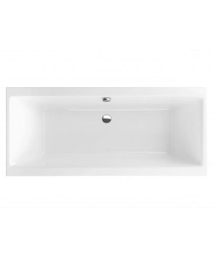 Ванна акрилова прямокутна Excellent Pryzmat Slim 1800х800 (WAEX.PRY18WHS-BN)