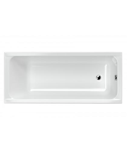 Ванна Excellent прямокутна 1700х750 Actima Base з ніжками, глибина 50 см (WAEC.PR06P.170.075)