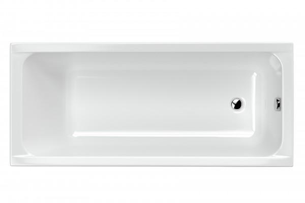Ванна Excellent прямокутна 1600х700 Actima Base з ніжками, глибина 50 см (WAEC.PR06P.160.070)